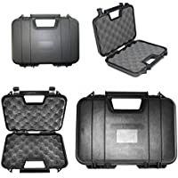 Airsoft caja segura de pistola y estuche de transporte seguro Airsoft (31,5cm) htuk®, negro