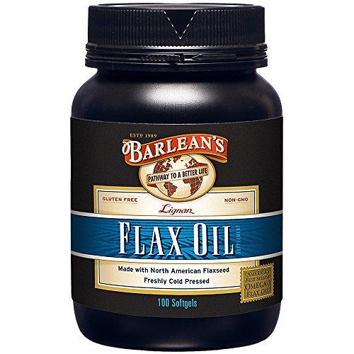 Barleans High Lignans Flax Oil Capsules (100 caps)