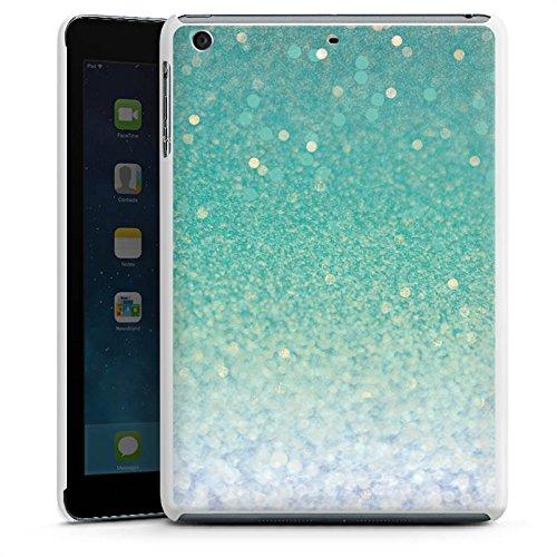 apple-ipad-mini-3-hulle-schutz-hard-case-cover-glitzer-grun-glitter