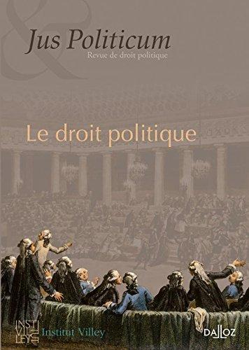 Le droit politique. Jus politicum Nº1-2009