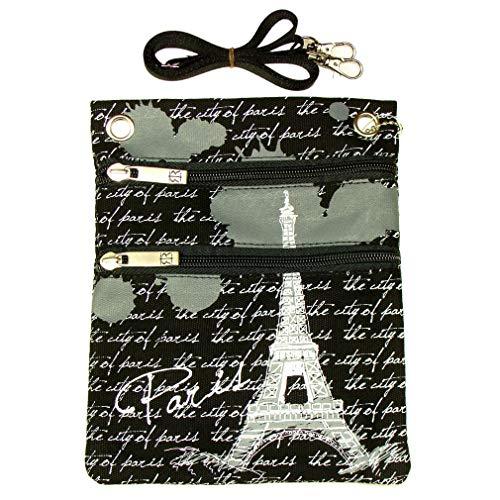 Pochette Passeport Paris Robin Ruth - Gris