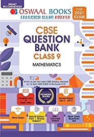 Oswaal CBSE Question Bank Class 9 Mathematics Book Chapterwise & Topicwise Includes Objective Types &