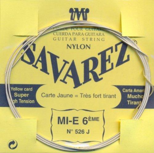 Savarez 526 J - E6 Konzertgitarre, high tension