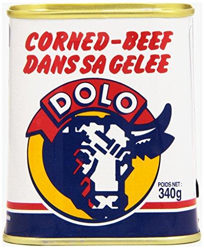 Dolo Corned-Beef dans sa Gelée 340 g - Lot de 4