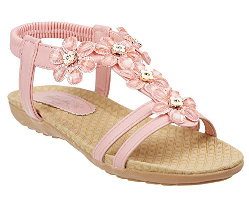ladies-summer-flat-slim-sole-sandals-size-4-to-8-uk-daisy-detailed-design-5-uk-pink