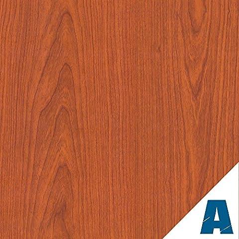 Artesive WD-053 Ciliegio Medio larg. 90 cm x 5mt. - Pellicola Adesiva in vinile effetto legno per interni per rinnovare mobili, porte e oggetti di casa