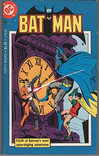 Bat Man (Batman) 4 Adventures: Ghost of the Killer Skies / Walk, Batman, to Your Doom / Half an Evil / the Riddle-Less Robberies of the Riddler!