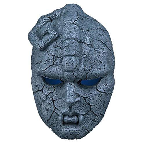WANGQJZH Japanische Manga Maske JoJo Wunderbare Abenteuer Wasserspeier, Sarkophag Medizinische Halloween Maske Horror Maske Dämon, Gruselige Horror Teufel Maske