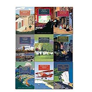 book cover of British Library Crime Classics 9 Books Collection Set