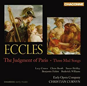 Eccles: The Judgment of Paris / Three Mad Songs