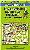 Bad Staffelstein - Lichtenfels - Ebensfeld: Michelau, Zapfendorf (Fritsch Wanderkarten 1:35000, Band 147) -