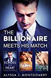The Billionaire Meets His Match/Mistaken Identity/Echoes Of The Heart/Roses For Sophie