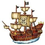 Three Sixty Degrees Ltd / Cut-out Piratenschiff