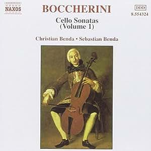 Boccherini:Cello Sonatas, Vol. 1