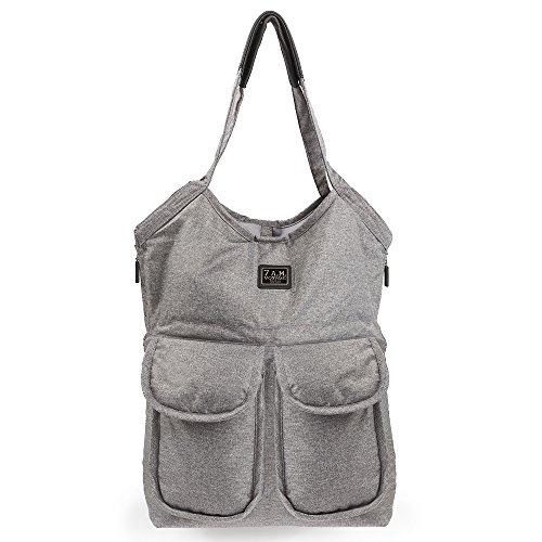 7A.M. Enfant Barcelona bolsa de pañales gris...