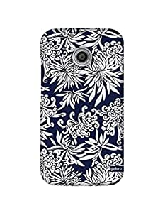 Gobzu Printed Hard Case Back Cover for Moto E1 / Moto E 1st Generation - Design_14