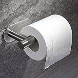 Ruicer Toilettenpapierhalter Selbstklebend Klopapierhalter ohne bohren Klorollenhalter Edelstahl WC-Papierrollenhalter für Küche und Bad