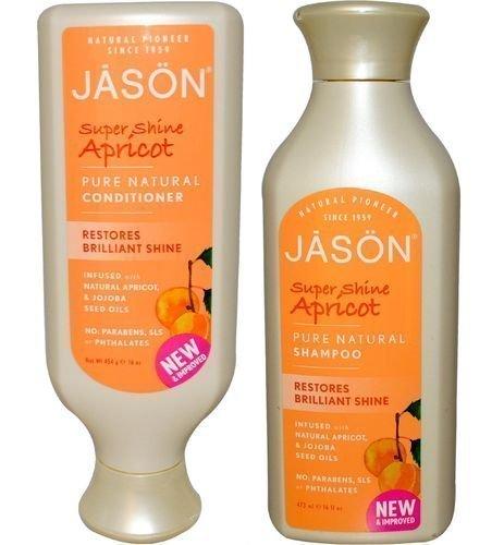 Jason Natural Apricot Shampoo & Conditioner Duo