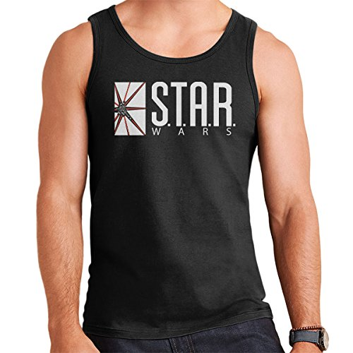 Star Wars Labs Flash DC Comics White Men's Vest Black