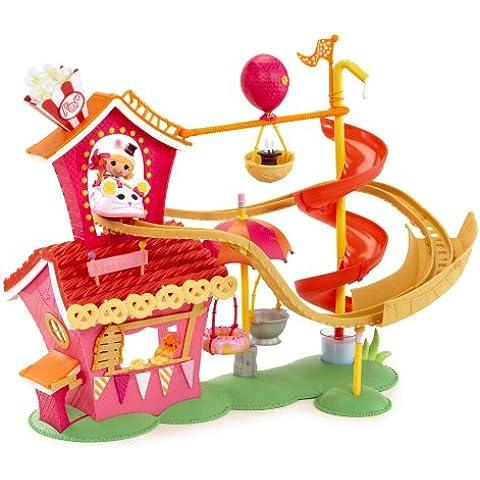 MGA Entertainment Mini Lalaloopsy - Casita de juguete con montaña rusa