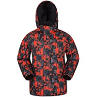 Mountain Warehouse Chaqueta de esquí Estampada Shadow para Hombre Bright Orange M