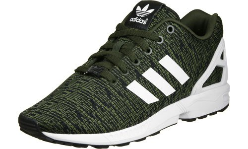 adidas Herren Zx Flux Sneaker Grün (Night Cargo/footwear White/core Black)