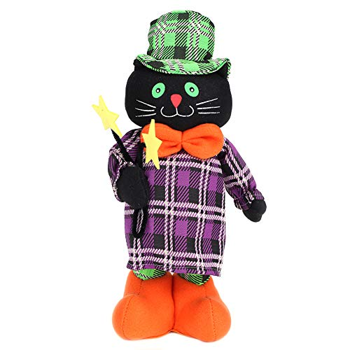 Halloween Decoration stretch - Black cat - 40-50 cm 15-19 ""