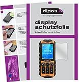 dipos I 6X Schutzfolie klar passend für AEG M550 Folie Bildschirmschutzfolie