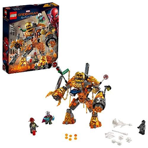 LEGO Marvel Spider-Man 76128 - Far From Home Duell mit Molten Man, Bauset