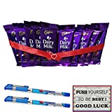 #6: Maalpani Dairy Milk With Best Of Luck Card And Chocolate