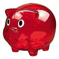 Salvadanaio PIGGY COIN, simpatico porcellino salvadanaio. Super colorato, in trasparenza per un tocco ulterire di stile. Non è mai tardi per risparmiare, inizia ora con Piggy coin!