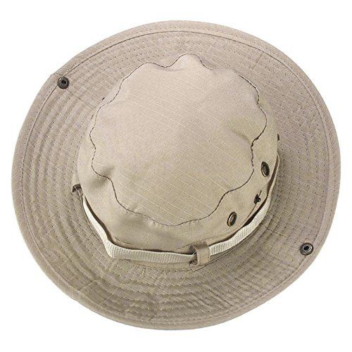 t Boonie Hunting Fishing Outdoor Brim Military Wide Cap (Billig Baseball-kappen)