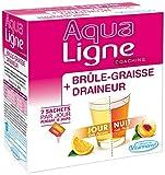 VITARMONYL Aqualigne Brûle Graisse + Draineur Jour/Nuit (20 Sachets) - Lot de 4