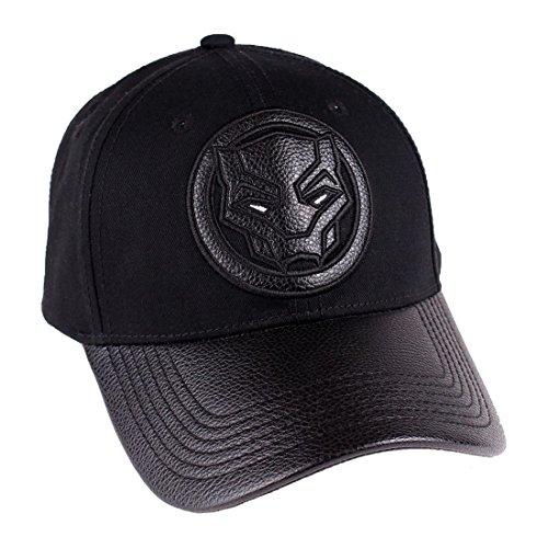 Cotton Division Black Panther Baseball Cap Logo Marvel black