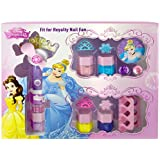Princesas Disney - Fit for Royalty Nail Fan, pack de maquillaje (Markwins 9604110)