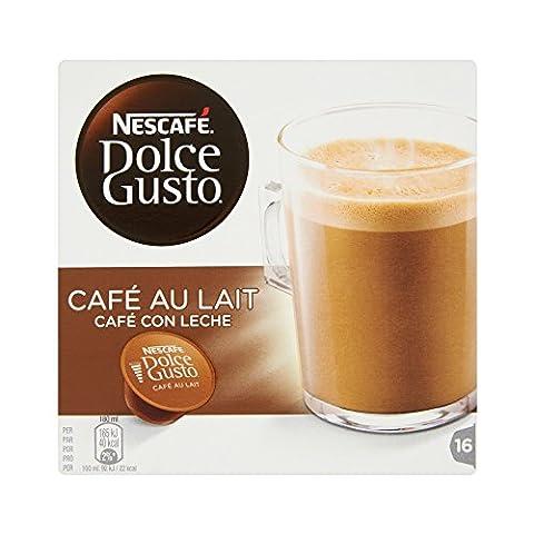 Nescafé Dolce Gusto CAFÉ AU LAIT - Café - 16 capsules -160g