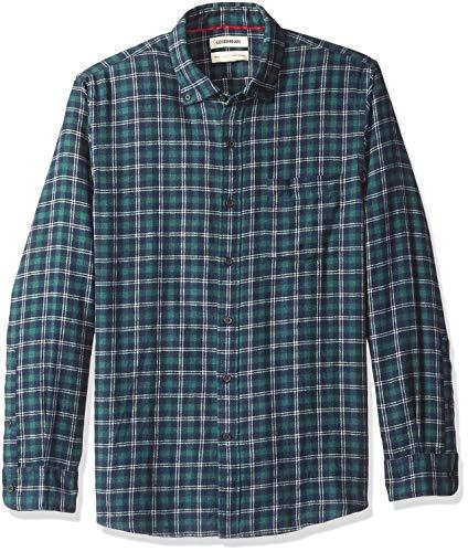 Marca Amazon - Goodthreads: camisa franela manga larga