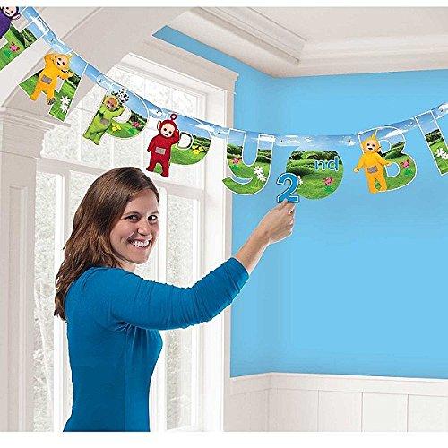 Amscan International 9901446Teletubbies Banner, 1,7m x (Dress Up Internationale Ideen)