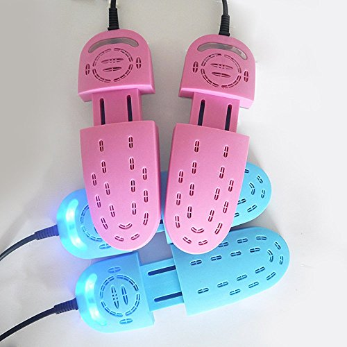 Generic Pink Farbe: New Teleskop stretng Roll-Schuhtrockner Trockner für Schuhe UV-Sterilisator Schuh Deo Warmers Luftentfeuchter Heizung