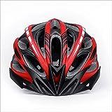 240g ultra leggero - Ciclismo bici della strada della montagna MTB della bicicletta casco di sicurezza - Sicurezza certificata caschi da bicicletta per gli uomini e donne di età, Teenager Boys & Girls - comodo, leggero, traspirante ( Colore : Rosso )