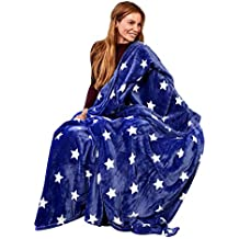 poli/éster Navy Stars 78.7x78.7 Ustide familia Picnic manta y exterior 51/x67 resistente al agua pr/áctico Mat Picnic Tote primavera verano azul marino estrellas mantas