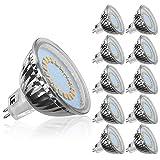 LE 10 Pack MR16 GU5.3 LED Bulbs, 35W Halogen Bulbs Equivalent, 3.5W, 12V, 280lm, 120° Beam Angle, Warm White, 3000K, LED Light Bulbs