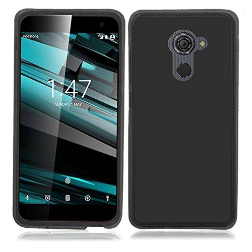 TBOC® Schwarz Gel TPU Hülle für Vodafone Smart Platinum 7 (5.5 Zoll) Ultradünn Flexibel Silikonhülle