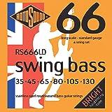 Rotosound RS666LD - Juego de cuerdas para bajo de acero inoxidable