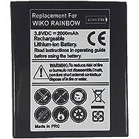 Bateria de recambio Modelo repuesto para movil Wiko Rainbow capacidad 2000 mah