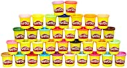 Play-Doh 36 Can Mega Pack of Non-Toxic Modeling Compound, 3-Ounce Cans