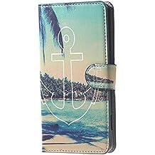 Funda para Doogee X5 Pro,Funda de Cuero Cartera Piel Carcasa para Doogee X5/X5 Pro Wallet Cover Case