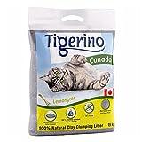 2 sacchi da 12 kg di lettiera agglomerante per gatti Tigerino Canada, al 100% in granulato di argilla naturale