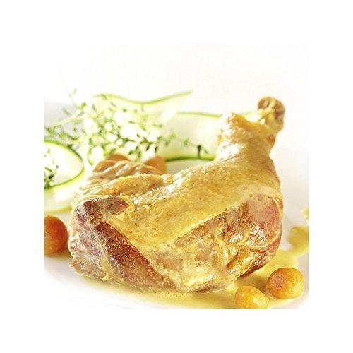 Le Gourmet Pro - Poule Curcuma Sauce Safranée - Pour 1 Personne