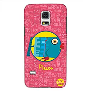 Designer Samsung Galaxy S5 Mini Case Cover Nutcase - - Star Signs - Pisces Pink